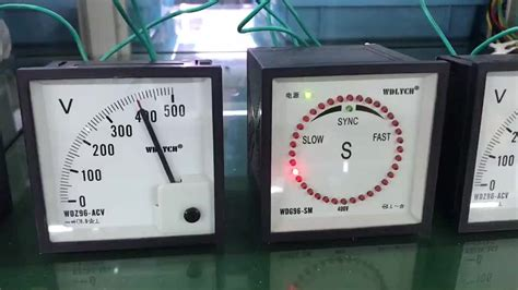 Szt Type Automatic Synchroscope Meter With Auto Parallel