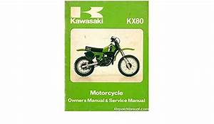 U99920 1085 01 Used 1979 1980 Kawasaki Kx80 Motorcycle Owners