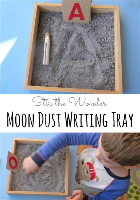 moon dust writing tray learning homeschooling 349 | 14f223f9623aee0606e79bc17708ac59