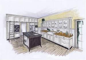 Amerikanische Küche Einrichtung : planzeichnung landhausk che opera amerikanische k che landhausk che pinterest ~ Markanthonyermac.com Haus und Dekorationen