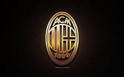 Milan Fc Football Ac Serie Background Glitter