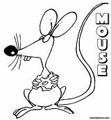 Mouse Coloring Pages Colorings sketch template