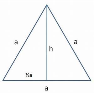 Höhe Gleichschenkliges Dreieck Berechnen : dreiecke benennung berechnung und beispiele ~ Themetempest.com Abrechnung