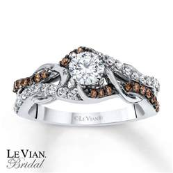 chocolate engagement rings levian chocolate diamonds 3 4 ct tw engagement ring 14k gold