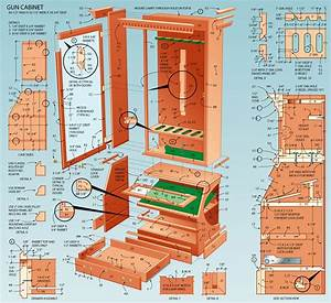 free woodworking plans for display cabinets Online