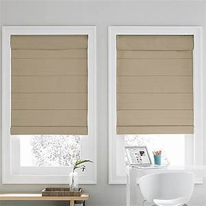 Buy roman shades from bed bath beyond for Bed bath and beyond roman blinds