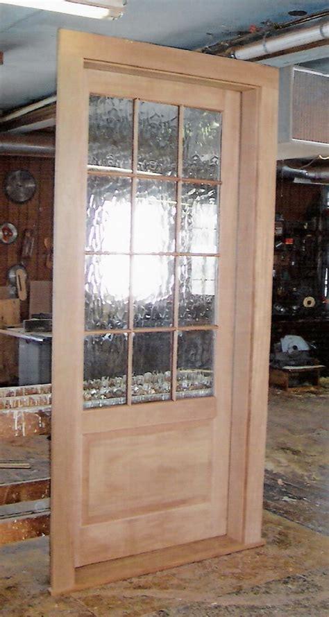 Custom Exterior Doors by Custom Built Wood Exterior Doors Entryway Arch Top