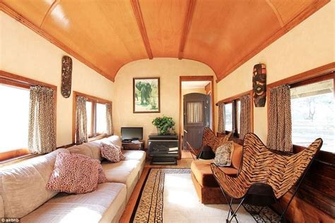 Australia's holiday homes converted from TRAIN carriages