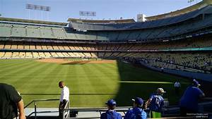 Seating Chart Dodger Stadium Rows Dodger Stadium Section 301 Rateyourseats Com