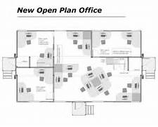 Open Office Layout Design by Home Ideas