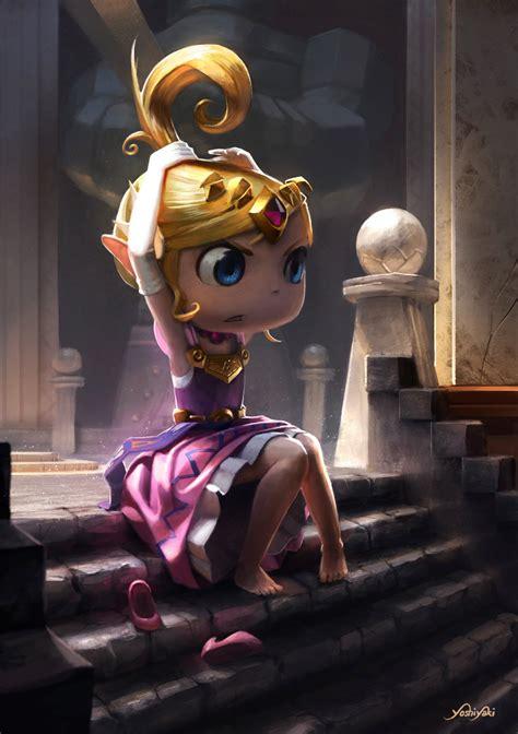 Fanart Zelda The Legend Of Zelda An Art Tribute On