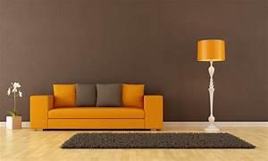 Welche Wandfarbe Passt Zu Dunklen Möbeln : oranges sofa welche wandfarbe passt die besten idee ~ Bigdaddyawards.com Haus und Dekorationen