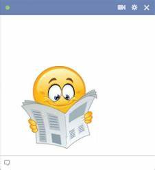 Emoticon Story Copy And Paste Reading A Newspaper Symbols Emoticons
