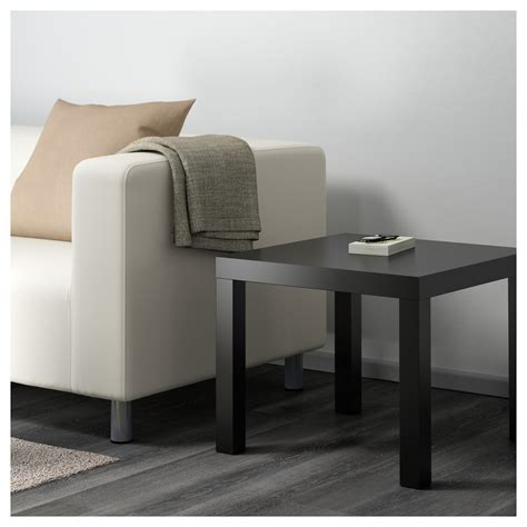 lack side table black 55x55 cm ikea