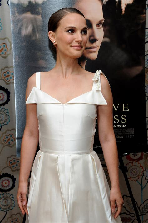 "Natalie Portman In Christian Dior At The ""a Tale Of Love"