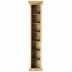 colonne de rangement metal et bois naturaliste maisons With colonne maison du monde