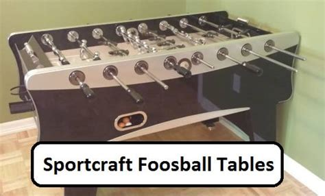 sportcraft foosball table   experience