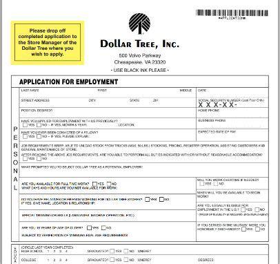 employment application images printable job