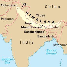 map of himalayan ranges where are the himalayas mountain range himalayan footsteps 174