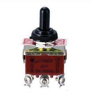 Toggle Switch 6 Pins Dpdt 3 Position Momentary On
