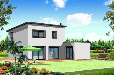 plan maison plain pied 120m2 4 chambres maison toit plat de 100m2 jubault access