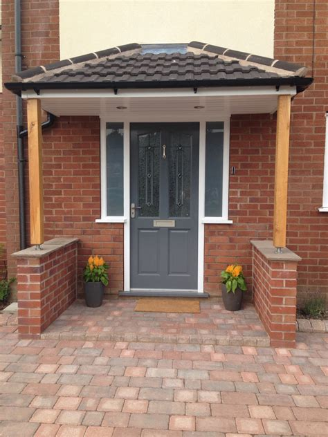 house canape richmond style front door painted in gallant grey by