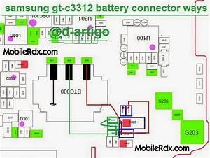 Samsung C3312 Duos Battery Connecter Ways Problem Jumper