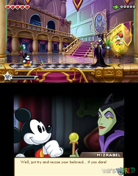 Epic Mickey Power Of Illusion On 3ds