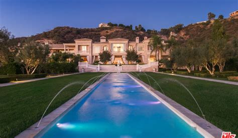 beverly hills palazzo  amore estate  listed