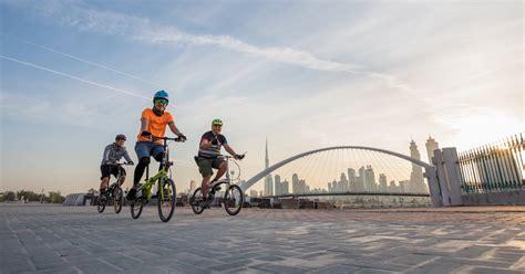 Join Sheikh Hamdan for Dubai Ride, cycling down Sheikh ...