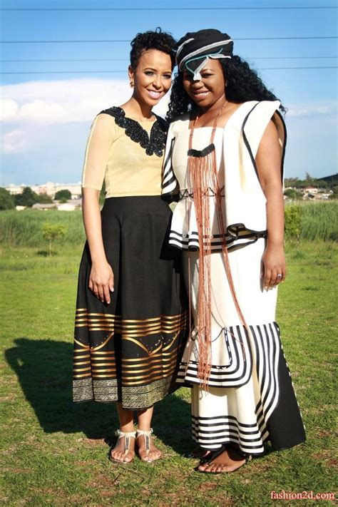 trendy traditional attire  umembeso  fashion