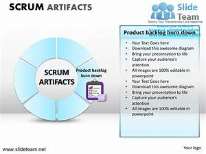 scrum process powerpoint ppt slides With agile artifacts templates