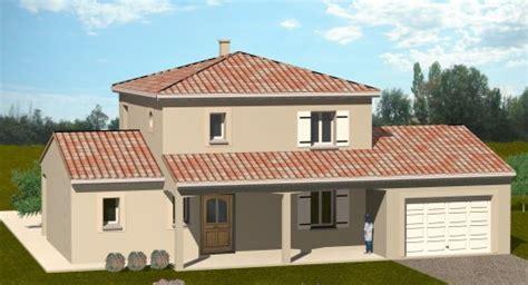 plan maison 4 chambres 騁age construction 86 fr gt plans pour maison à étage de type traditionnelle dans la vienne 86