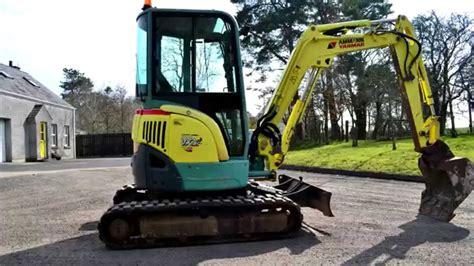 yanmar vio mini excavator sold youtube