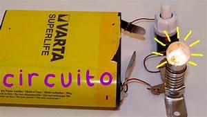 Circuito B U00e1sico El U00e9ctrico  Electr U00d3nica  Proyecto De Ciencias