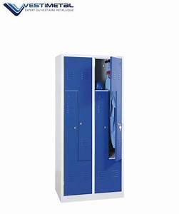 Casier De Vestiaire : casier vestiaire pas cher vestiaire industriel acier ~ Edinachiropracticcenter.com Idées de Décoration