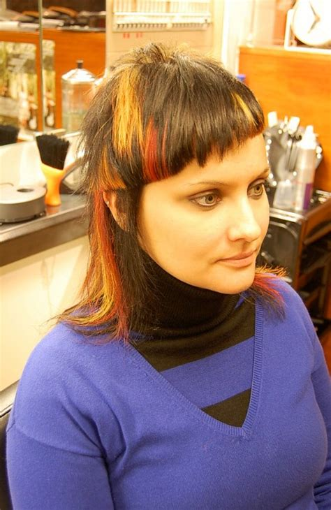 Bright Hairstyles by Flames A Fabulously Turning Cut Color Hairstyles