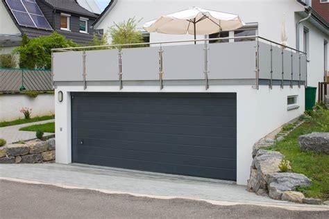 Was Kostet Fertiggarage by Hang Garage Terassen Garage Als Beton Fertiggarage