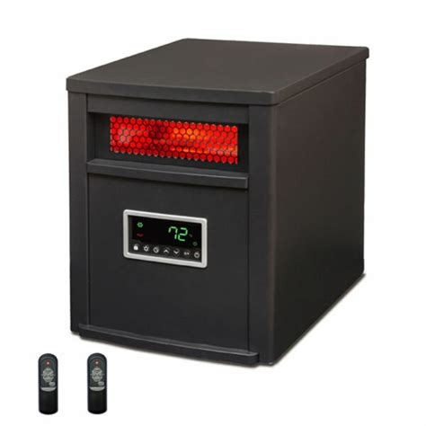 Infrared Heater Living Room by Lifesmart 6 Element 1500w Portable Electric Infrared Room
