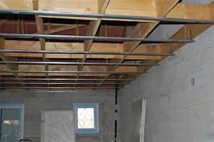 Pose Rail Placo Plafond : rail pour pose le placo au plafond fini blog de la maison ~ Dailycaller-alerts.com Idées de Décoration