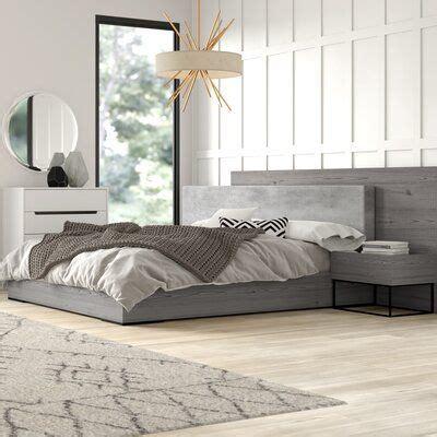 mercury row mraz platform  piece bedroom set