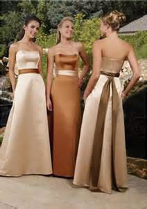 bridesmaid dresses gold bridesmaid dresses and formal gowns