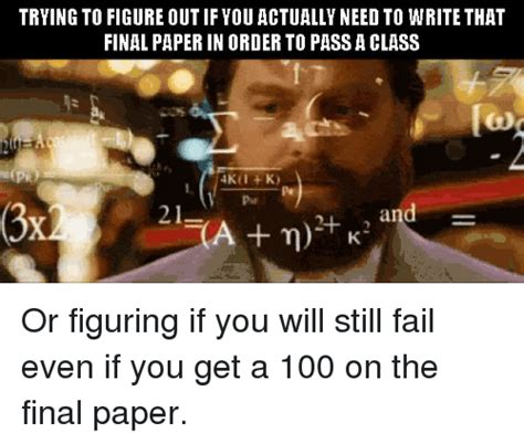 Trying To Figure Out If You Actually Need To Write That