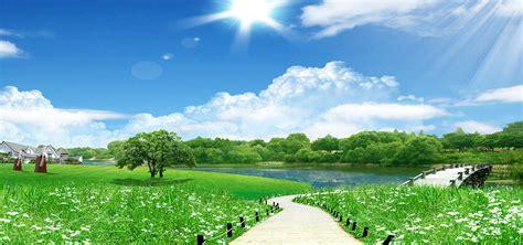 korean natural background landscape korean natural
