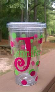 17 best images about cups mugs containers w vinyl With vinyl letters for plastic cups