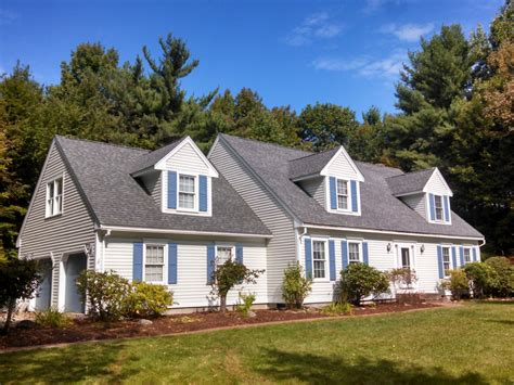 """Cape Cod With Attached Garage And """"a"""" Dormers Bradford"""