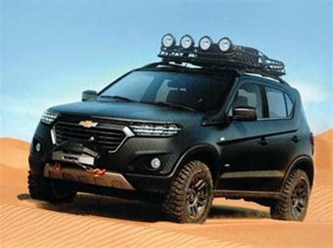 chevrolet niva concept leaked   moscow reveal