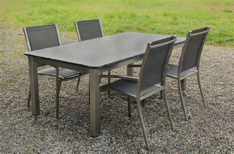 stunning table de jardin en granit noir ideas awesome