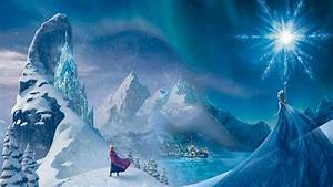 Elsa and Anna on Mountains - Frozen Wallpaper (1904x1071 ...