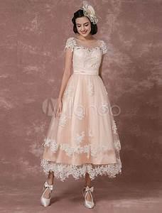 Hochzeitskleid Spitze Rückenfrei : vintage brautkleid r ckenfrei hochzeitskleid kurz mit illusion spitze milanoo ~ Frokenaadalensverden.com Haus und Dekorationen